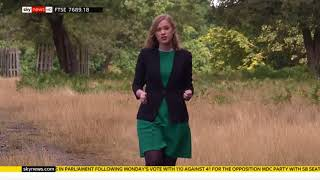 Sophie Ward - Sky News - 1st August 2018