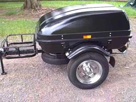 small car trailer lightweight cargo trailers youtube