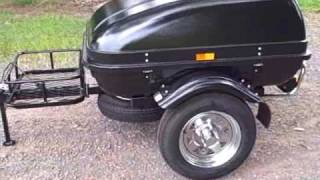Small Car Trailer Lightweight Cargo Trailers