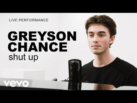 Greyson Chance - 'shut up' Live Performance | Vevo