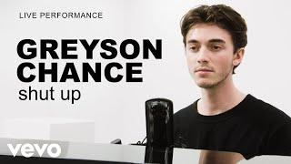 Greyson Chance - 'shut up' Live Performance | Vevo