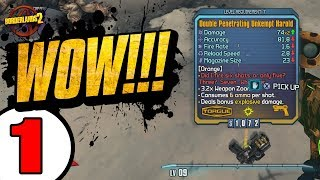 RIDICULOUS LUCK!! Road to OP8 Zer0 - Day 1 [Borderlands 2]