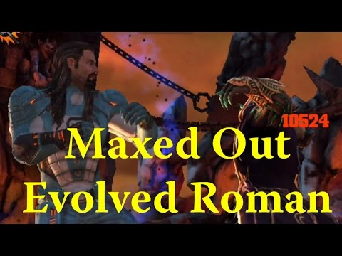 WWE Immortals - Maxed Out Evolved Roman Reigns Gameplay