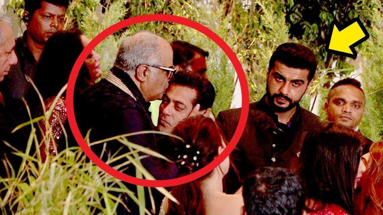 Salman Khan Ignores Arjun Kapoor Like Never Before At Sonam Kapoor\'s ...