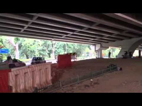 Industrial accident case at CTE - Yio Chu Kang Road flyover
