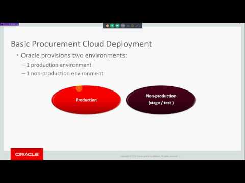 Oracle Fusion Procurement Cloud Interactive Session @Rudra I