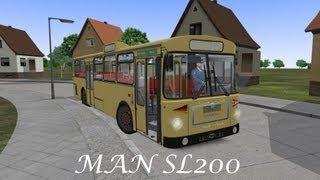 MAN SL200 OMSI Test Drive