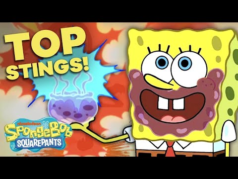Top 12 Most Iconic Jellyfish Stings⚡ SpongeBob SquarePants
