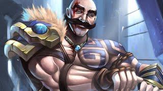 League of Legends - Partidaza con Braum Support (Pre-Temporada 5)