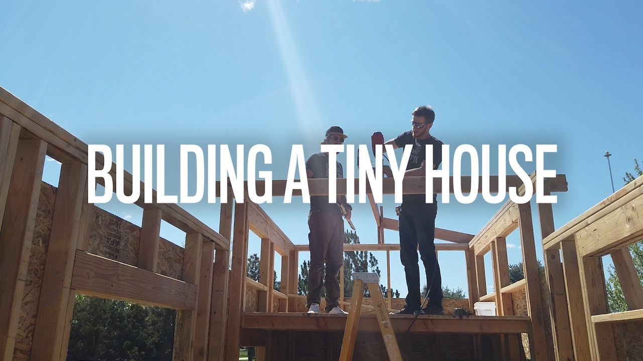 Building a tiny house office (Part 1)