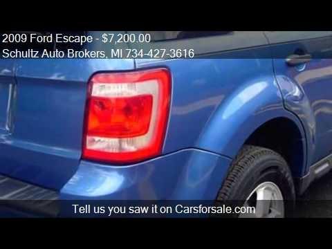 2009 Ford Escape for sale in Livonia, MI 48150 at the Schult
