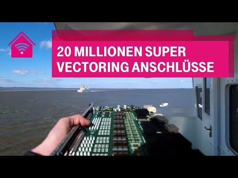 Social Media Post: 20 Millionen Super Vectoring Anschlüsse