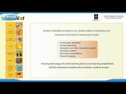 Sikkim Manipal EduNxt Introduction