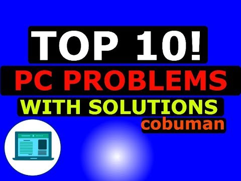 TOP 10 Desktop PC Issues and Problems with Solutions