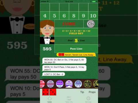 CRAPS: Betting the Don'ts (Don't Pass, Don't Come, Lay Bets)