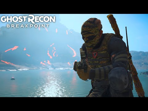EXPLORING NEW TITAN GOLEM ISLAND in Ghost Recon Breakpoint Free Roam