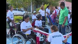 Bocha, el deporte con el que personas discapacitadas dejan en alto el nombre de Atlántico
