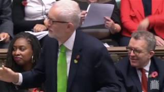 Corbyn pays tribute to Speaker Bercow