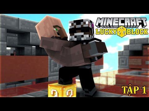 Oops Club Minecraft | Lucky Block Challenge - Tập 1: CỨU TUI VỚI TNT