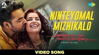 Ninteyomal Mizhikalo - Full Video Song | Abhiyude Kadha Anuvinteyum | Tovino, Pia Bajpai | Malayalam