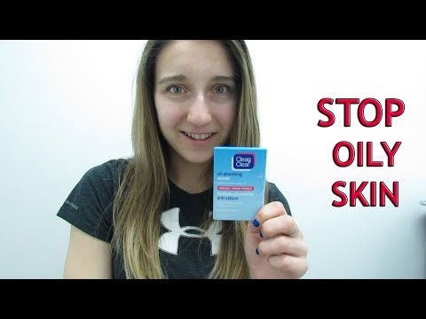 HOW TO STOP OILY SKIN! WITH BLOTTING SHEETS???