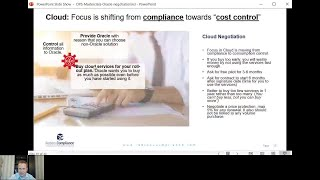 How to negotiate Oracle Cloud Contracts