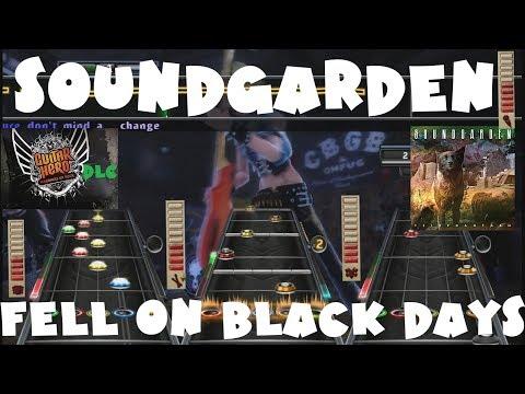 Soundgarden - Fell On Black Days - Guitar Hero Warriors of Rock DLC X+ Full Band (Sept 28th, 2010)