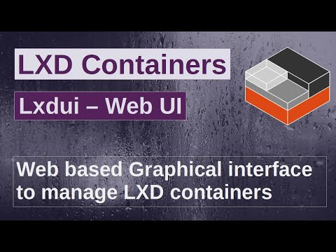 Lxdui   A Web based GUI tool to interact with your LXD instance