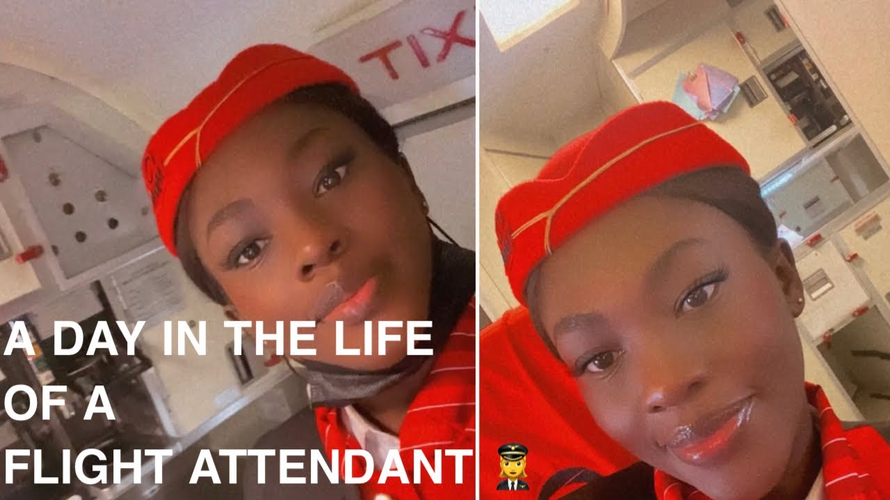 Download A DAY IN THE LIFE OF A FLIGHT ATTENDANT IN NIGERIA