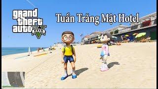 GTA 5 Mod - Nobita Và Xuka Đi Hưởng Tuần Trăng Mật Ở Nha Trang