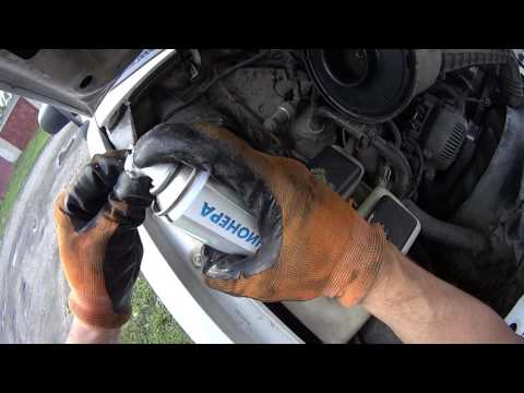 CLEANING AIR CONDITIONEER EVAPORATOR ON FORD