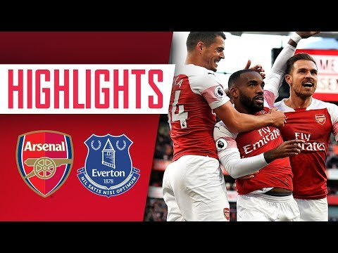 Highlights - Arsenal 2 - 0 Everton