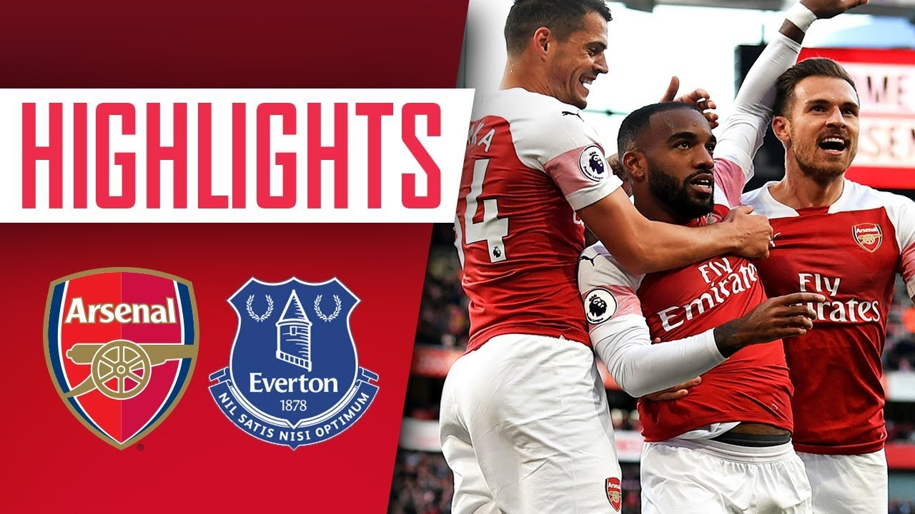 HIGHLIGHTS | Arsenal 2-0 Everton | Lacazette with a stunning goal!
