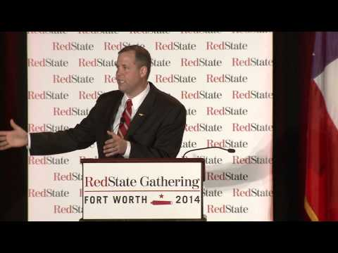 Congressman Jim Bridenstine at the 2014 RedState Gathering #RSG14