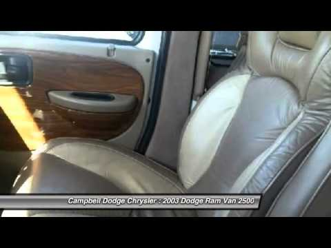 2003 Dodge Ram Van 2500 Fairview Alberta 8983a