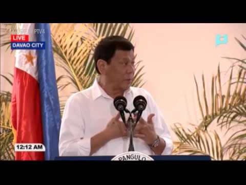 Duterte lashes out at British reporter