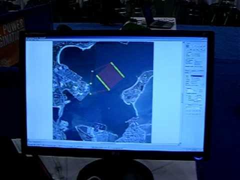 Robot Submarine with Sonar, GPS & Wireless. Robo Dev. Conf. 2008