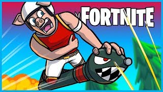 How NOT to ROCKET RIDE in Fortnite: Battle Royale! (Fortnite Funny Moments & Fails)