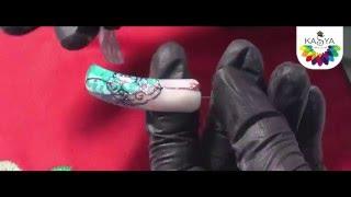 Литье гель-лаком на ногтях