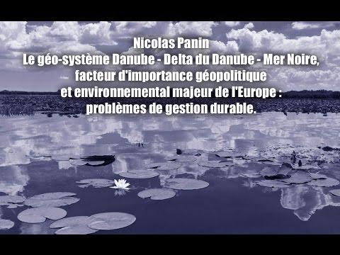 Nicolas Panin - Le géo-système Danube - Delta du Danube - Mer Noire