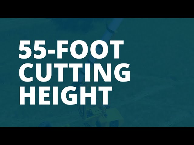 55 Foot Cutting Height