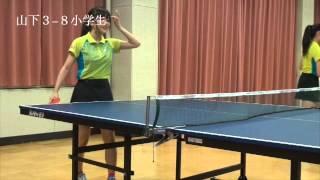 日頃の練習の成果を試しに、 今回は小学生と対戦! 【卓球】Ru:RunVS中...