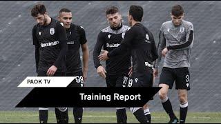 Τα στιγμιότυπα του φιλικού κόντρα στην Κ19 - PAOK TV