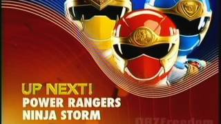 Nicktoons (U.S.) - Up Next! Power Rangers Ninja Storm _Aternate Bumper  (2012)