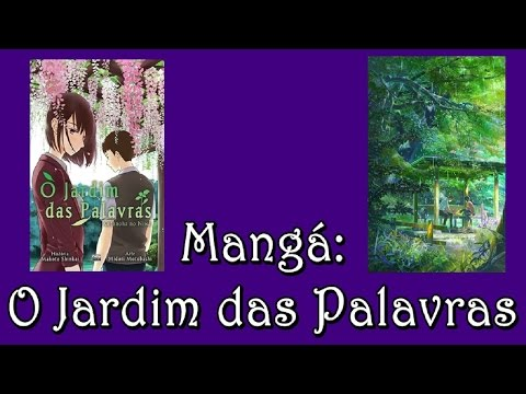 Trailer do filme O Jardim das Palavras