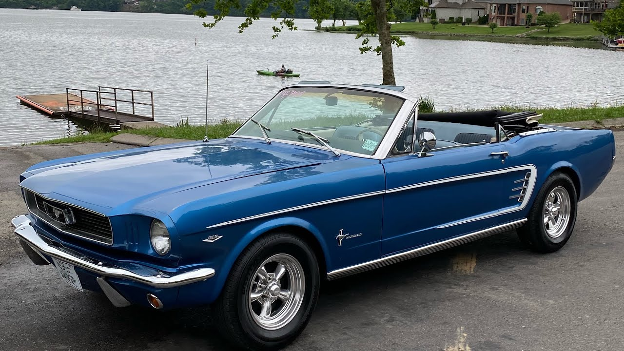 Test Drive 1966 Ford Mustang Convertible $24,900 Maple Motors #1016