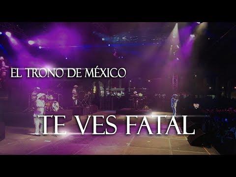 El Trono de México - Te vez fatal - Ralston Arena NE. (En Vivo) Parte 4