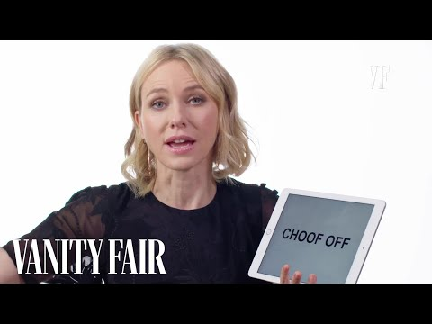 Naomi Watts Teaches You Australian and British Slang  Vanity Fair