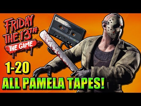 ALL PAMELA TAPES 1-20 | Friday the 13th Game