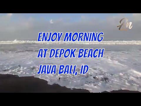 Depok Beach Java Indonesia Tourism